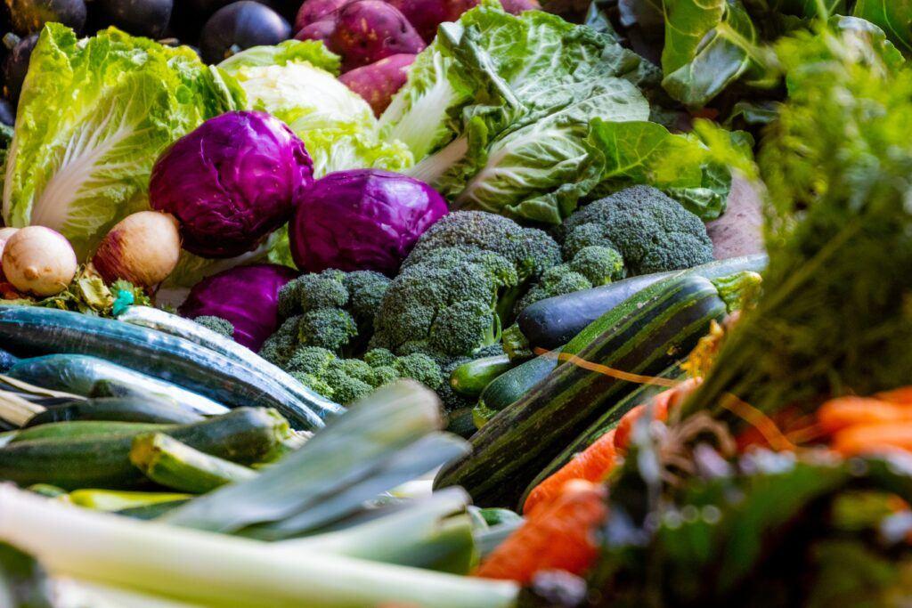 Platter of Mixed Vegetables