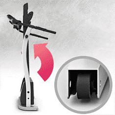 Kick2.0 Treadmill in Folded position